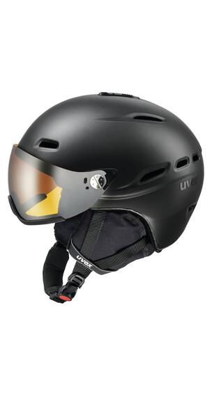 UVEX hlmt 200 skihelm zwart